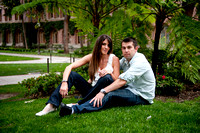 Anthony and Heidi Engagement at USC